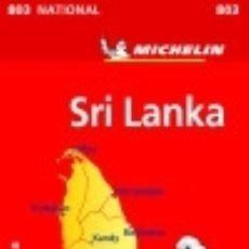 Libros: MAPA NATIONAL SRY LANKA. Lote 128339862