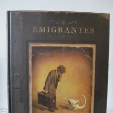 Libros: LIBRO ILUSTRADO. EMIGRANTES. SHAUN TAN. BARBARA FIORE EDITORA. Lote 128384975