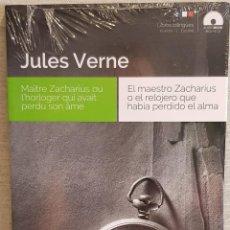 Libros: AUDIOBOOKS / LIBROS BILINGÜES / FRANCÉS-ESPAÑOL. JULES VERNE / PRECINTADO.. Lote 128430599