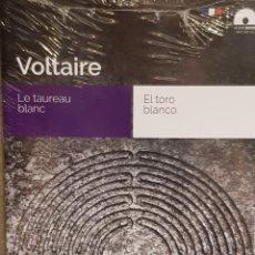 Libros: AUDIOBOOKS / LIBROS BILINGÜES / FRANCÉS-ESPAÑOL / VOLTAIRE / PRECINTADO.. Lote 128430787