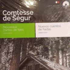 Libros: AUDIOBOOKS / LIBROS BILINGÜES / FRANCÉS-ESPAÑOL / COMTESSE DE SÉGUR / PRECINTADO.. Lote 128431279