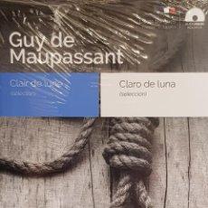 Libros: AUDIOBOOKS / LIBROS BILINGÜES / ESPAÑOL-FRANCÉS. GUY DE MAUPASSANT / PRECINTADO.. Lote 128431455