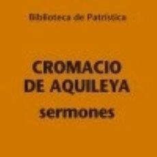 Libros: SERMONES [ BPA. 109]. Lote 128435475