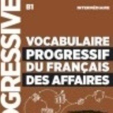 Libros: VOCABULAIRE PROGRESSIF DU FRANÇAIS DES AFFAIRES 2º EDITIÓN - LIVRE+CD - NIVEAU I. Lote 128435552