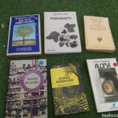 Libros: LOTE LIBROS CATALAN LOT LLIBRES EN CATALA LLIBRE. Lote 128998031