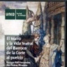 Livres: EL TEATRO Y LA VIDA TEATRAL DEL BARROCO: DE LA CORTE AL PUEBLO. Lote 132553871