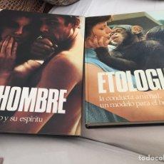 Libros: LIBROS EL HOMBRE Y ETIOLOGÍA. Lote 133372263