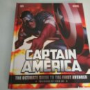 Libros: LIBRO CAPTAIN AMERICA THE ULTIMATE GUIDE TO THE FIRST AVENGER MARVEL NUEVO. Lote 133780931