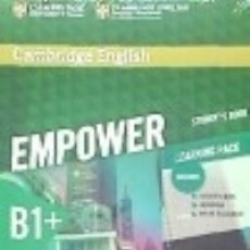 Libros: CAMBRIDGE ENGLISH EMPOWER FOR SPANISH SPEAKERS B1+ STUDENT'S BOOK WITH ONLINE ASSESSMENT AND. Lote 133819642