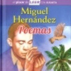 Libros: MIGUEL HERNÁNDEZ. POEMAS. Lote 133830814