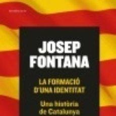 Libros: LA FORMACIÓ D'UNA IDENTITAT. Lote 133830941