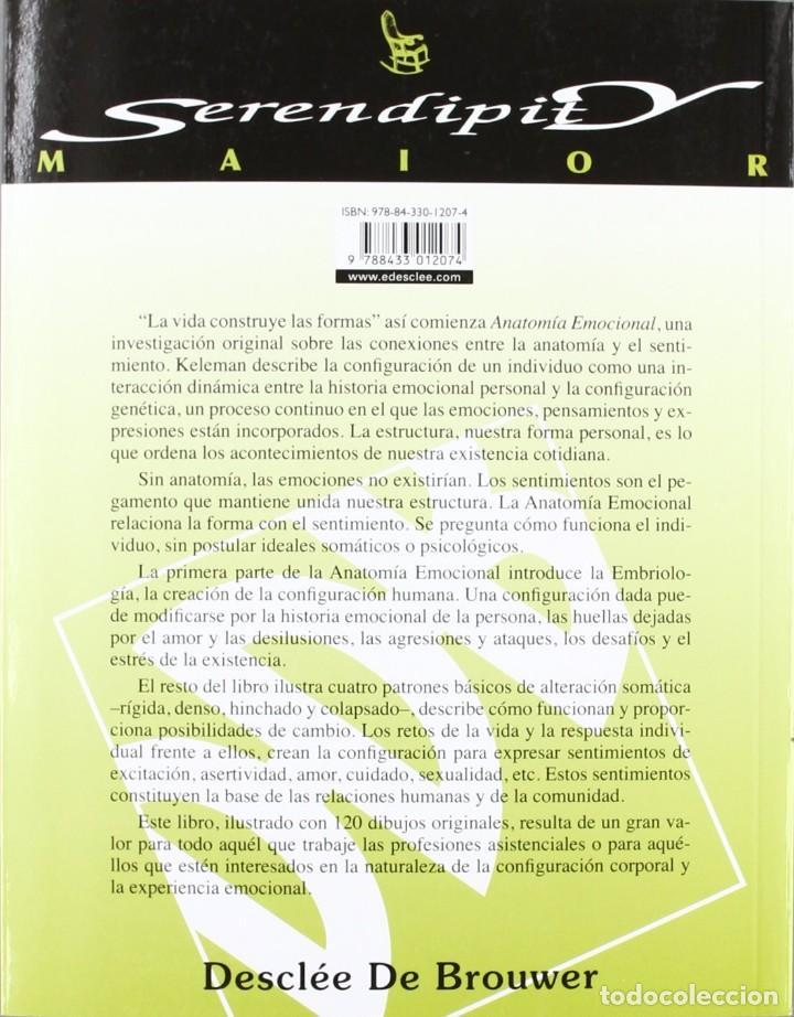Libros: libro anatomia mocional esuradela epereinca somatica 7 edicion STANLEY KELEMAN - Foto 2 - 133911326