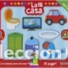 Libros: LA CASA (LIBRO PUZLE). Lote 133935490