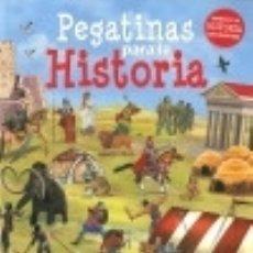 Libros: PEGATINAS PARA LA HISTORIA. Lote 133935914