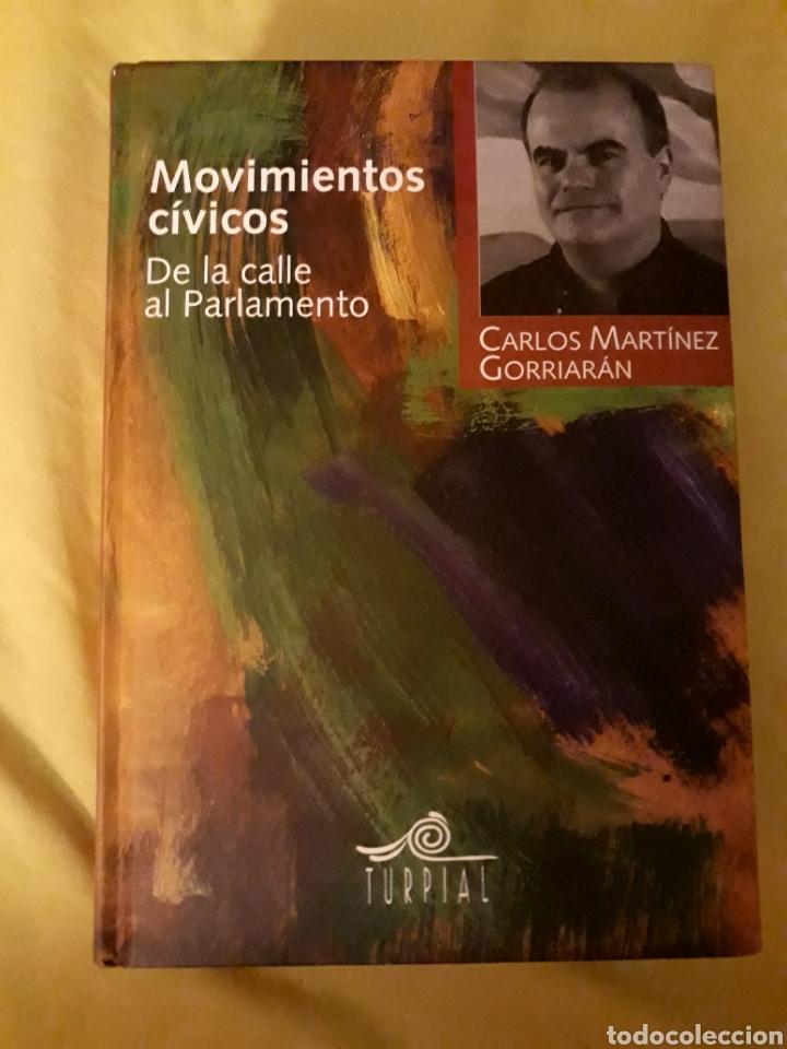 LIBRO MOVIMIENTOS CÍVICOS, DE LA CALLE AL PARLAMENTO (ARTÍCULO NUEVO) (Libros Nuevos - Ocio - Otros)