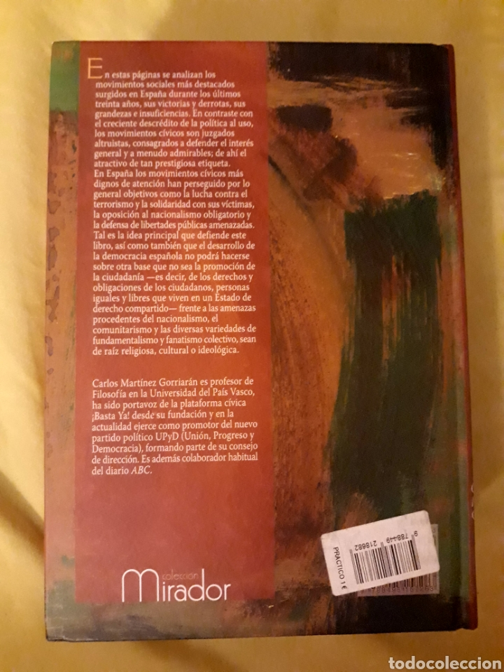Libros: Libro Movimientos Cívicos, de la calle al Parlamento (ARTÍCULO NUEVO) - Foto 2 - 134712230