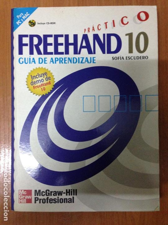 FREEHAND 10 PRACTICO GUIA APRENDIZAJE. (Libros Nuevos - Ocio - Otros)