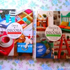 Libros: LIBROS MANUALIDADES DECORACION Y RECICLADO A ESTRENAR. Lote 135003682