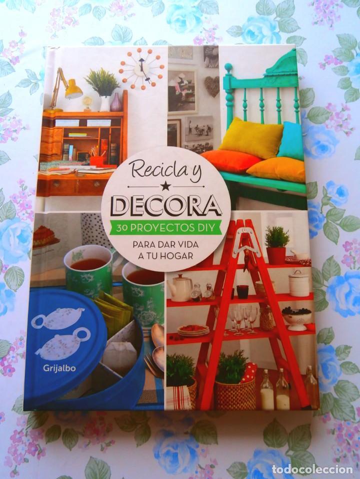 Libros: Libros manualidades decoracion y reciclado a estrenar - Foto 4 - 135003682