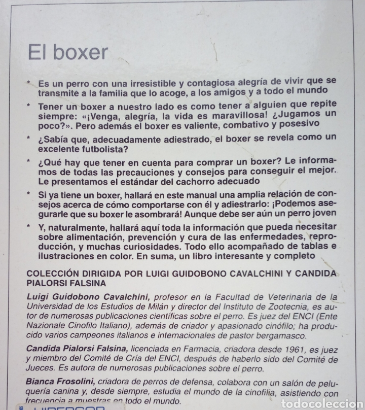 Libros: EL BOXER. Perros de raza - Foto 2 - 136449392
