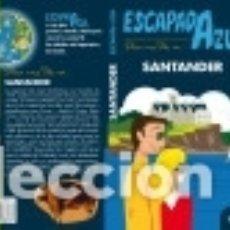 Libros: SANTANDER ESCAPADA AZUL. Lote 136586573