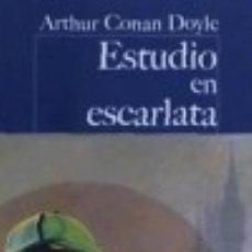 Libros: ESTUDIO EN ESCARLATA. Lote 133186742
