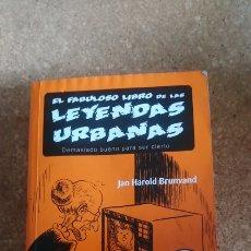 Libros: LEYENDAS URBANAS. Lote 137980177