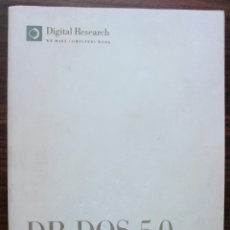 Libros: DR DOS 5.0 NOTAS TECNICAS. MANUAL DE INSTRUCCIONES. VIEW MAX. Lote 140277182