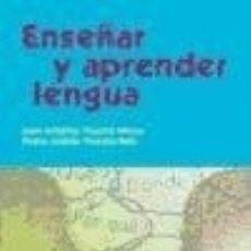 Libros: ENSEÚAR Y APRENDER LENGUA. Lote 140357040