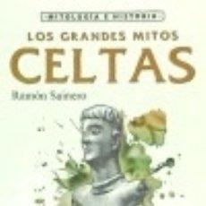 Libros: LOS GRANDES MITOS CELTAS. Lote 140384718