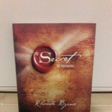 Libros: CONOCIDO LIBRO DE EL SECRETO.RHONDA BYRNE.. Lote 141665786