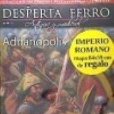 Livros: REVISTA DESPERTA FERRO. ANTIGUA Y MEDIEVAL, Nº 50. ADRIANÓPOLIS. Lote 142387298