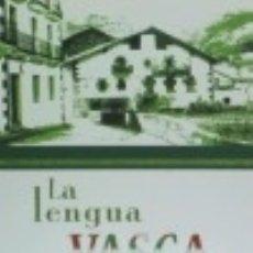 Libros: LA LENGUA VASCA: ORIGINALIDAD Y RIQUEZA DE UNA LENGUA DIFERENTE. Lote 142422785