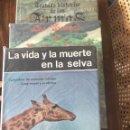 Libros: CUATRO LIBROS SOBRE CAZA Y ARMAS. Lote 143797066