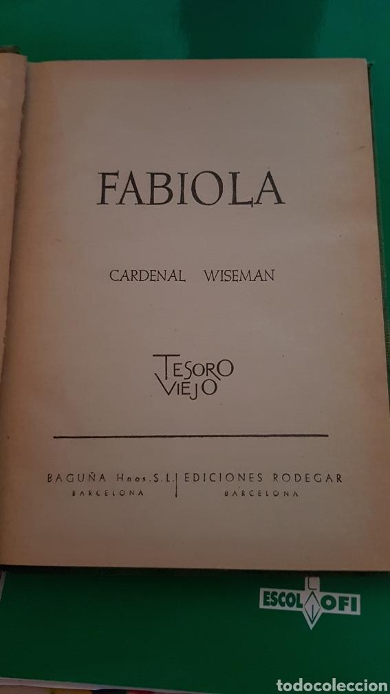 Libros: Libro Fabiola - Foto 2 - 147685978