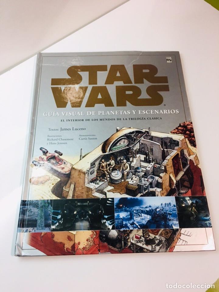 LIBRO STAR WARS GUIA DE PLANETAS Y ESCENARIOS, (Libros Nuevos - Ocio - Otros)