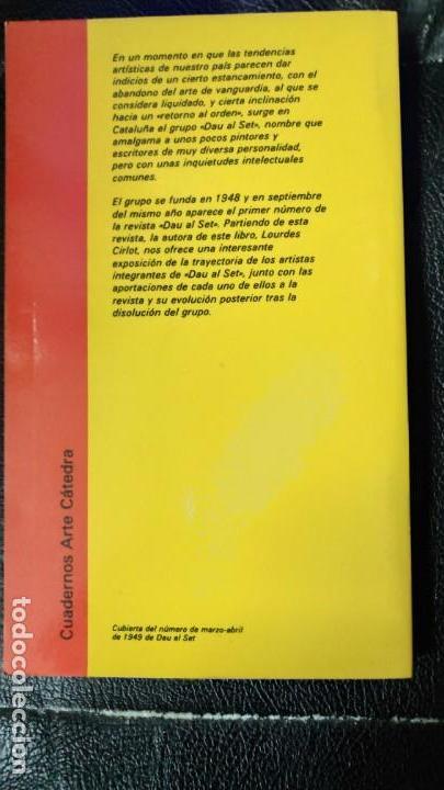 Libros: EL GRUPO DAU AL SET LOURDES CIRLOT - Foto 3 - 151429662