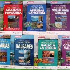 Libros: LOTE 9 LIBROS - LO MAS NATURAL DE ESPAÑA. Lote 152060594