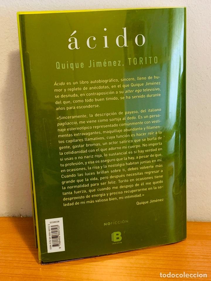 Libros: LIBRO - ÁCIDO - Foto 2 - 152146948