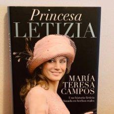 Libros: LIBRO - LA PRINCESA LETIZIA. Lote 152168540