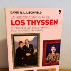 Libros: LIBRO - LA HISTORIA SECRETA DE LOS THYSSEN. Lote 152266068