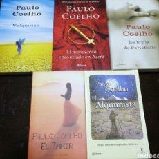 Libros: 5 BUENOS LIBROS DE PAULO COELHO. Lote 153719838