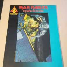 Libros: IRON MAIDEN, LIBRO DE NOTAS. NO PRAYER FOR THE DYING. Lote 159513400