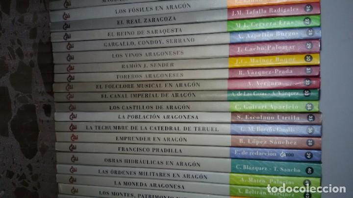 Libros: LOTAZO 87 LIBROS TEMÁTICA ARAGONESA. TODOS TÍTULOS FOTOGRAFIADOS. GASTOS ENVIO 10 EUROS - Foto 6 - 159869890