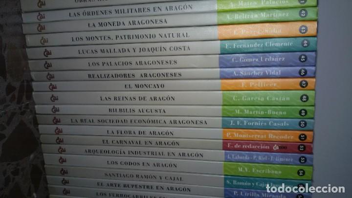 Libros: LOTAZO 87 LIBROS TEMÁTICA ARAGONESA. TODOS TÍTULOS FOTOGRAFIADOS. GASTOS ENVIO 10 EUROS - Foto 7 - 159869890