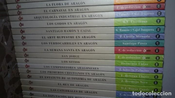 Libros: LOTAZO 87 LIBROS TEMÁTICA ARAGONESA. TODOS TÍTULOS FOTOGRAFIADOS. GASTOS ENVIO 10 EUROS - Foto 8 - 159869890