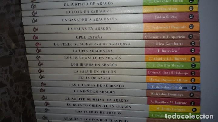 Libros: LOTAZO 87 LIBROS TEMÁTICA ARAGONESA. TODOS TÍTULOS FOTOGRAFIADOS. GASTOS ENVIO 10 EUROS - Foto 11 - 159869890
