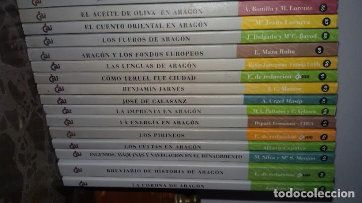 Libros: LOTAZO 87 LIBROS TEMÁTICA ARAGONESA. TODOS TÍTULOS FOTOGRAFIADOS. GASTOS ENVIO 10 EUROS - Foto 13 - 159869890