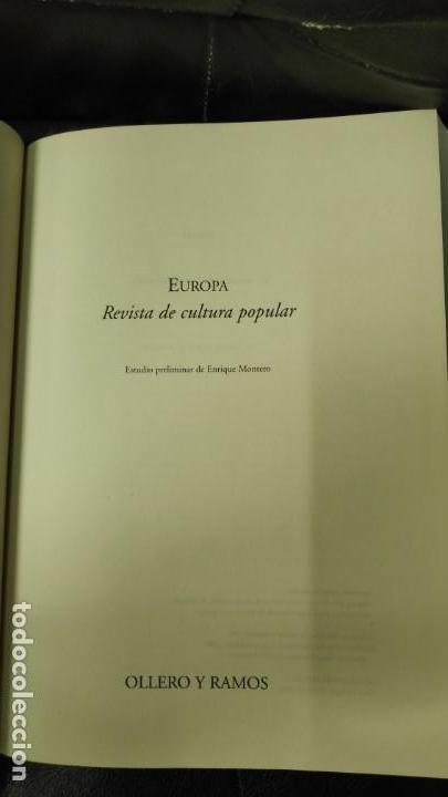 Libros: EUROPA REVISTA DE CULTURA POPULAR - Foto 4 - 162049722
