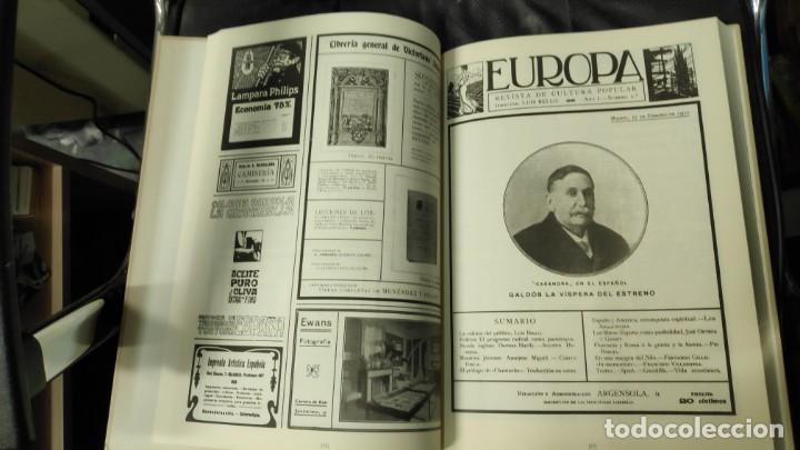 Libros: EUROPA REVISTA DE CULTURA POPULAR - Foto 9 - 162049722